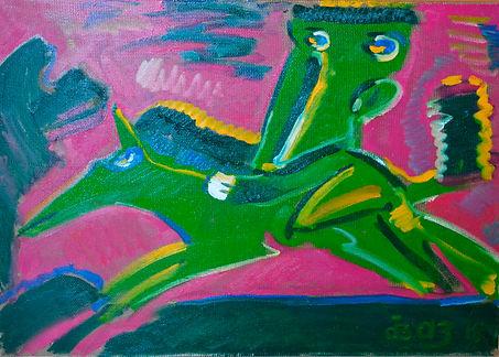 Roman Aivazian, Horserider