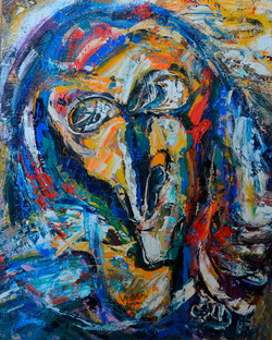 Paganini Portrait 65х80cm