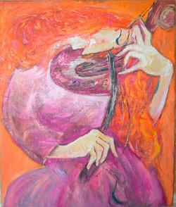 Violinist 120х100cm