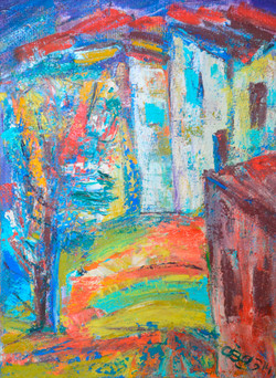 City Landscape 56х75cm