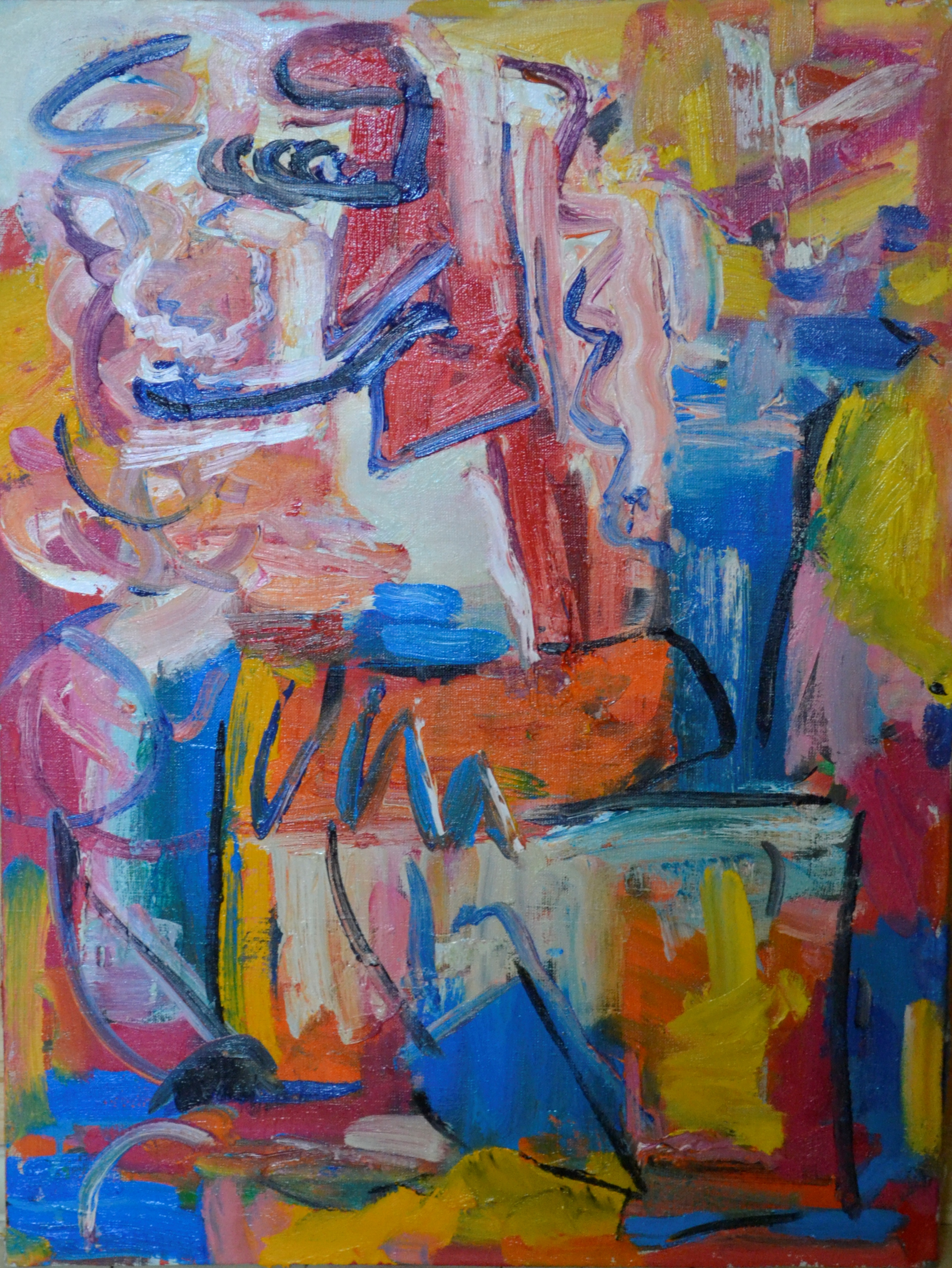 Man With A Pipe 52х70cm
