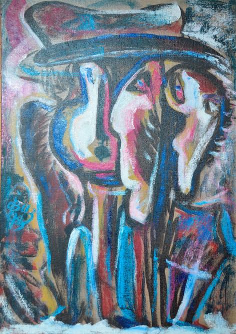 Portrait in the Mirror, 104x82