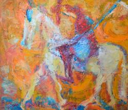 Don Quixote From La Mancha 110х87cm