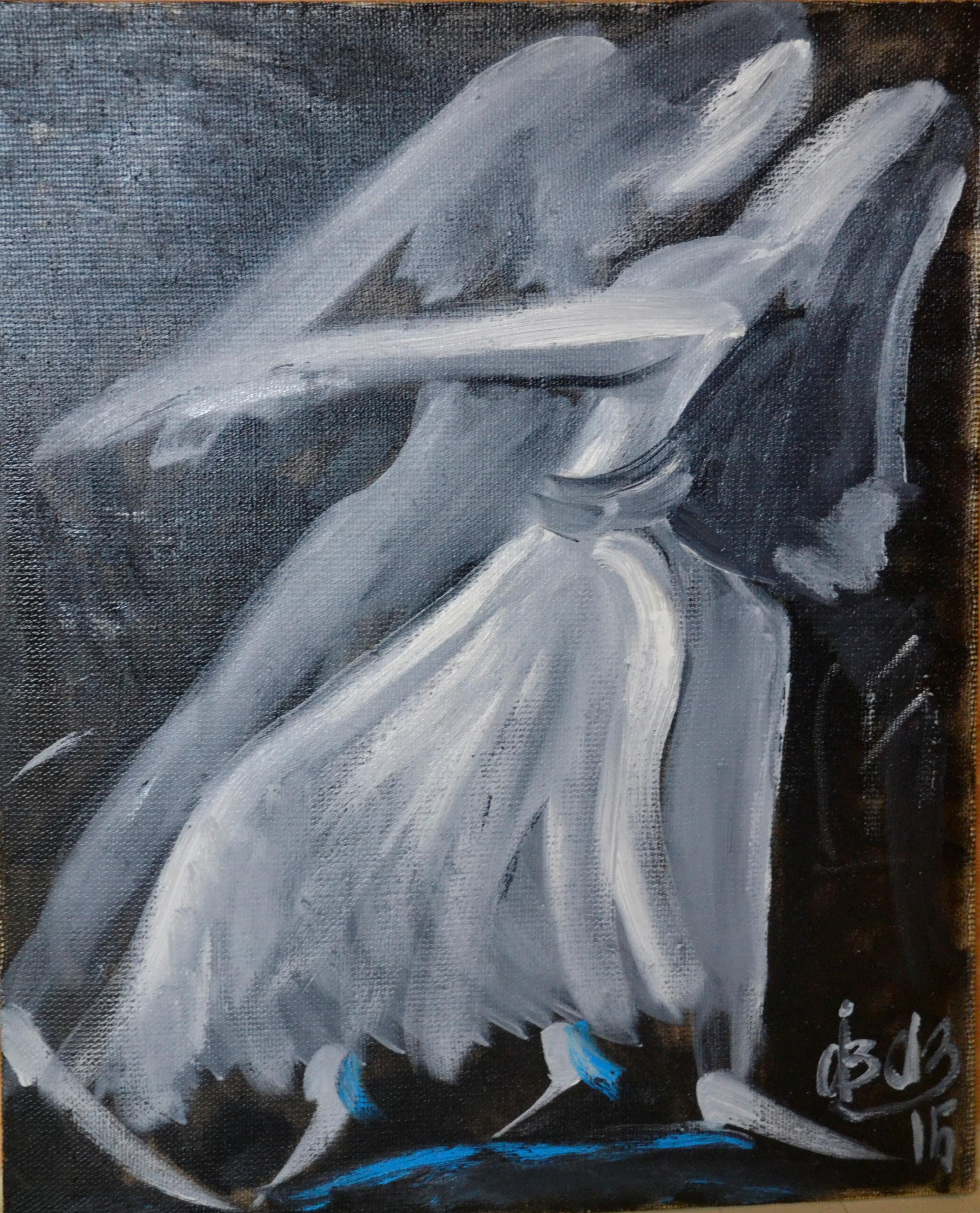 Dance black and white
