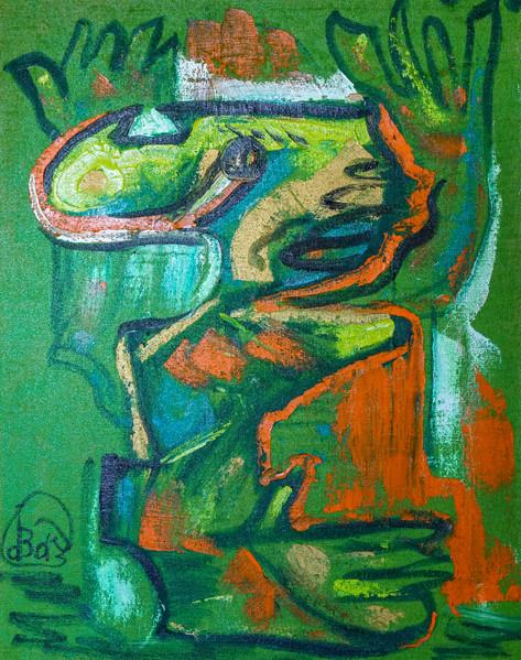 Green Kingdom, 105x85
