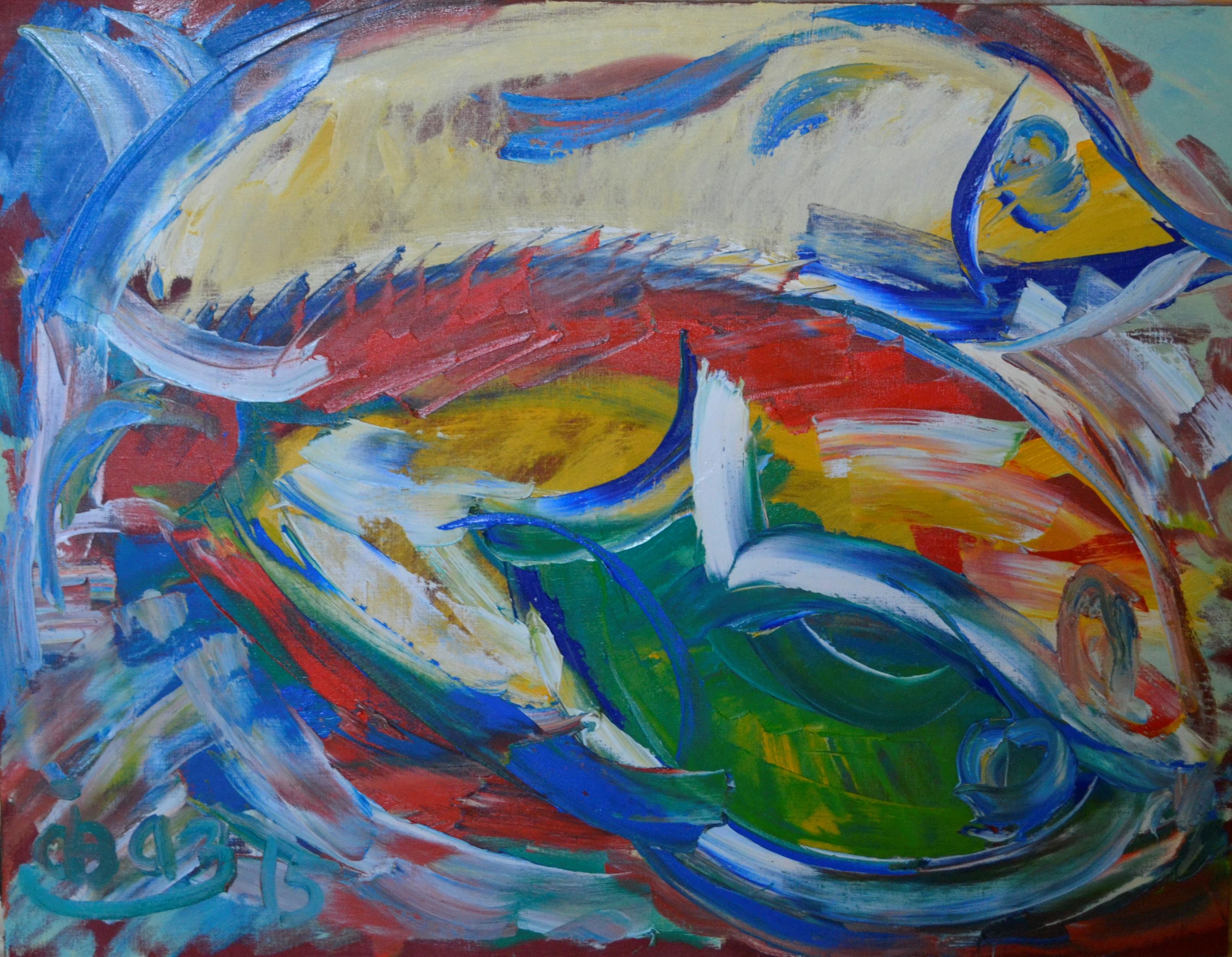 Pisces (number 31) 70х90cm