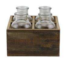 Wood Tray - 2x2 Bottle Brown.png