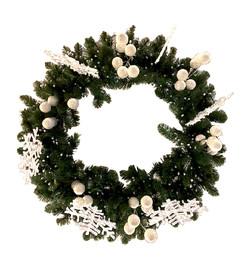 Hanging Wreath Chandelier