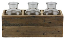 Wood Tray - 3 Bottle Brown.png