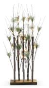 Tall Pine Trees w/Lights & Base