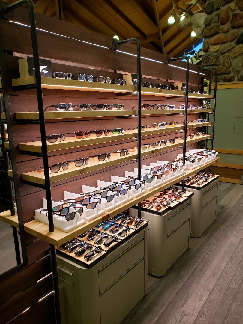 Pipe Shelves & Eyewear Holders