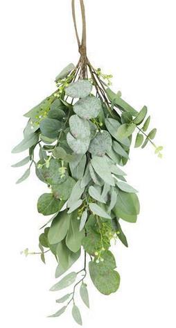 26 Inch Green Eucalyptus Teardrop.png
