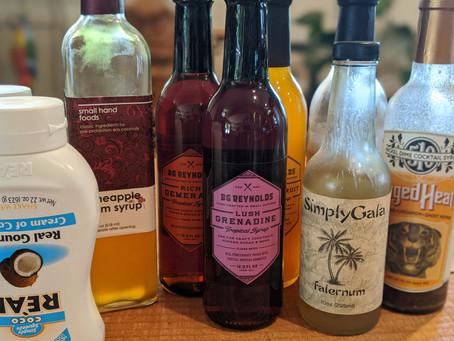 Tiki Lindy's Guide to Tiki Ingredients (Part I: Syrups)