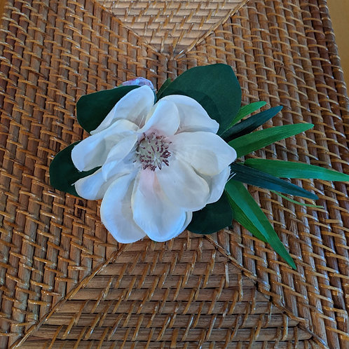 Magnolia & Monstera Ribbon