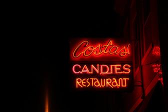 Costas Neon Sign