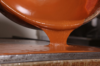 Pouring Caramel