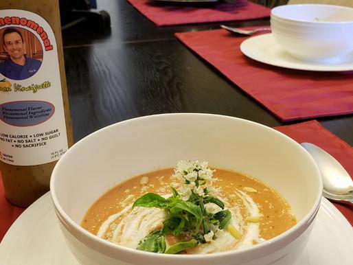 Phenomenal Parmesan Tomato and Basil Soup