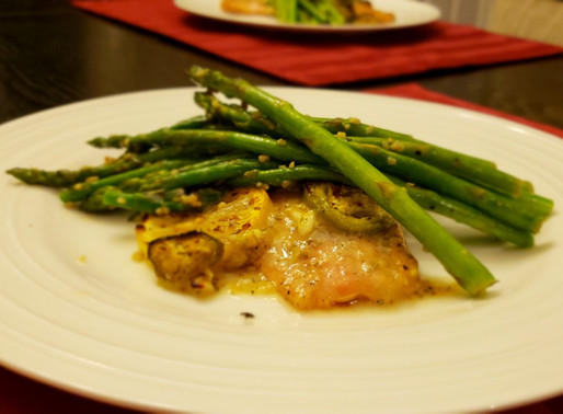 Jalapeno Wild Salmon and Asparagus