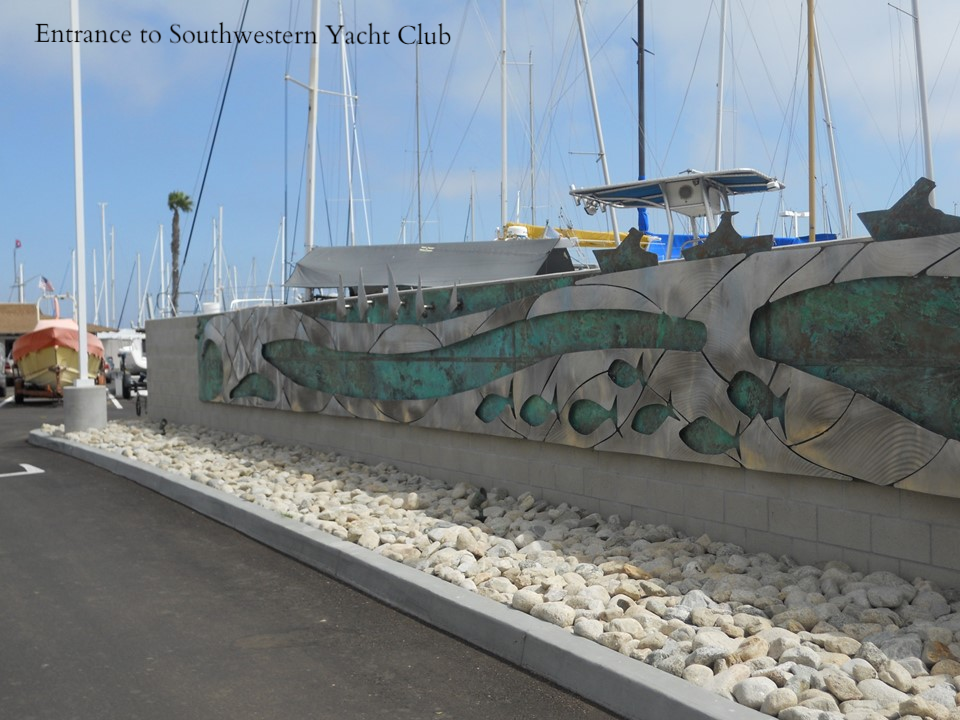 SWYC Port Public Art Entrance