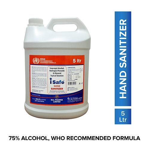 Isafe Hand Sanitizer 5 Ltr