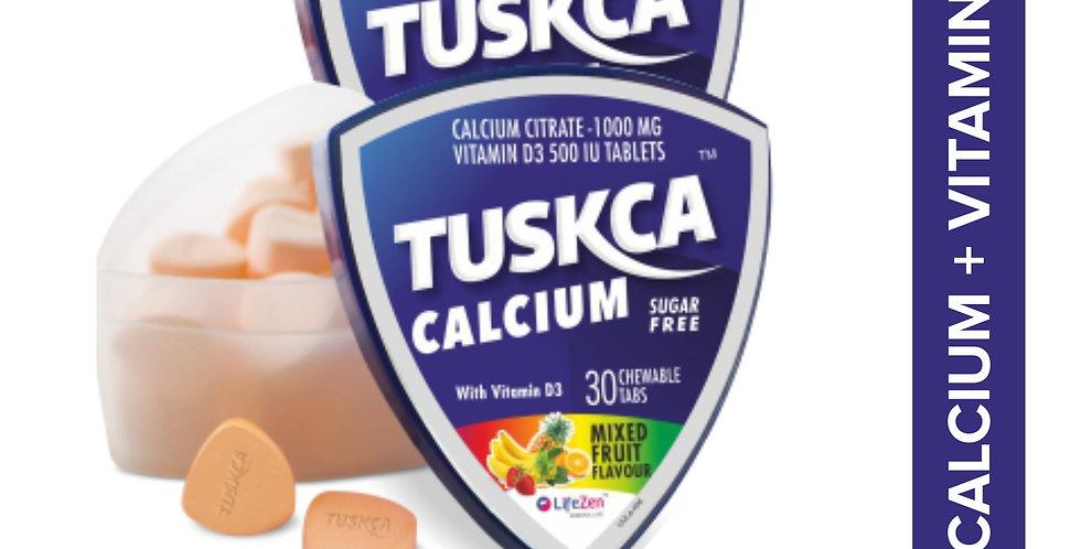 Tuskca calcium mixed fruit