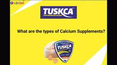 Tuskca Chewable Sugar Free Calcium Tablets for Women & Men | Best calcium tablets