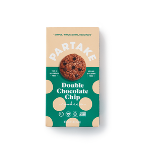 Black Owned Businesses: Partake Foods Double Chocolate Chip