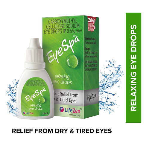 Eye Spa - Relaxing Eye Drops