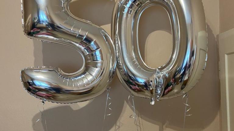 """Zahlenballon groß 4o"""" (102cm)"""