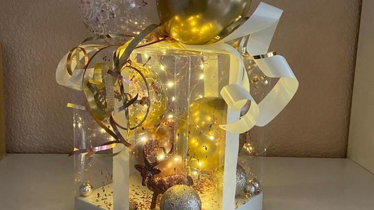 """Geschenkebox """"VIP"""" mit Beleuchtung"""