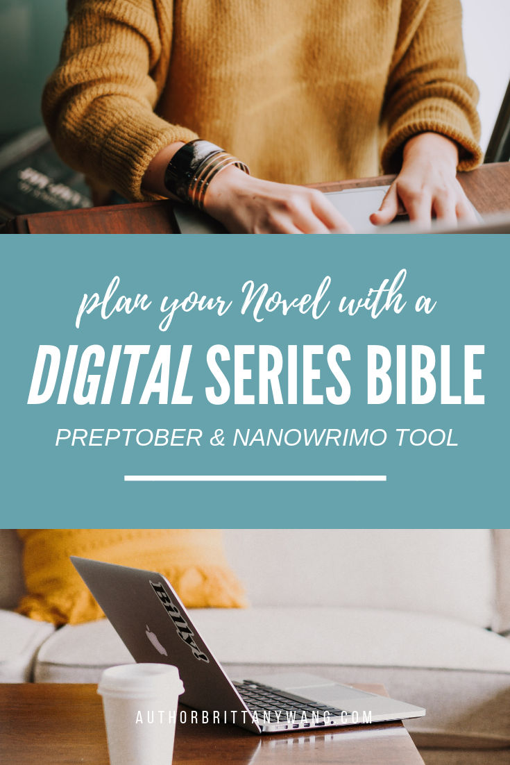 create a digital series bible preptober nanowrimo hack