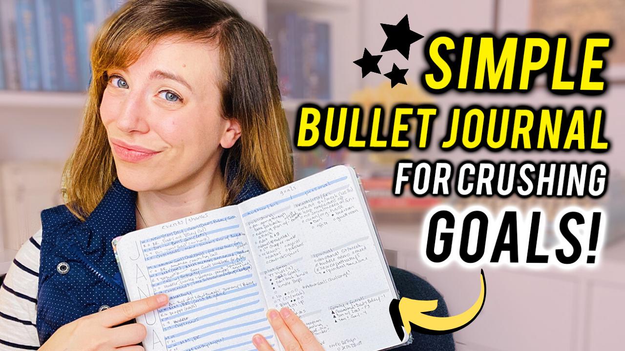 SIMPLE Writers Bullet Journal | 2020 Set