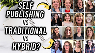 Self Publishing vs Traditional vs Hybrid