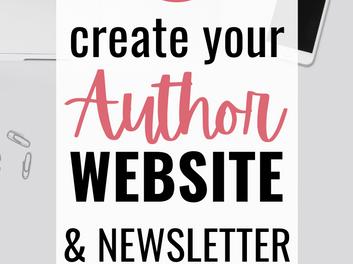 AUTHOR WEBSITES + NEWSLETTERS   AuthorTube Virtual Retreat