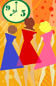 Poster 9 to 5 with hair texture.png