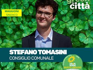 Il Nostro Candidato : Stefano Tomasini