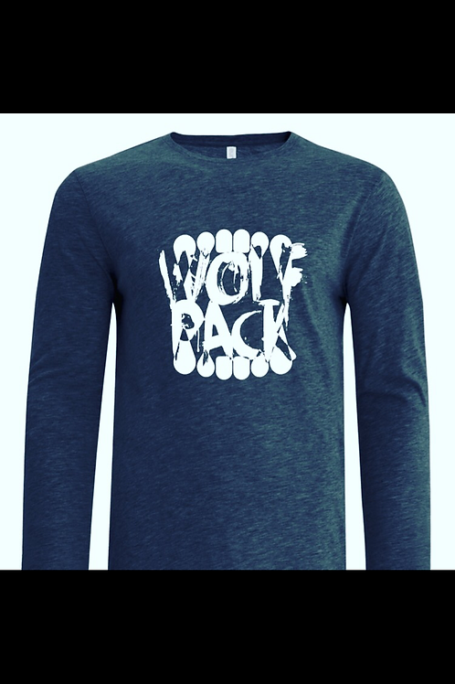 Heather Grey Wolfpack Long Sleeve (XL)