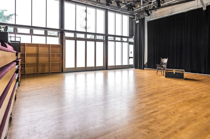 Wychwood Theatre Performance Space Retracted Seating