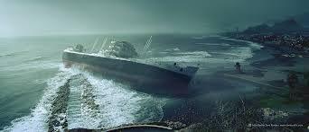 Depressão: navio a deriva