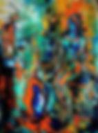 huile_le_Pré,_huile_sur_toile_et_collage