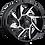 Thumbnail: Rin 18x9 Vision 422 Prowler GLOSS BLACK MACHINED FACE
