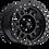 Thumbnail: Rin 16x8 Vision 398 Manx MATTE BLACK