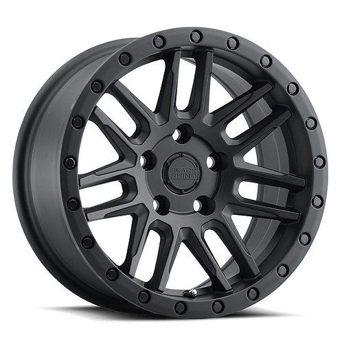 Rin 15x7 Black Rhino Arches Matte Black