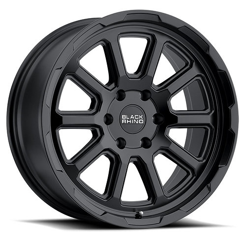 Rin 18x9.5 Black Rhino Chase MATTE BLACK