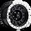 Thumbnail: Rin 16x8 Vision 398 Manx GLOSS BLACK MACHINED LIP