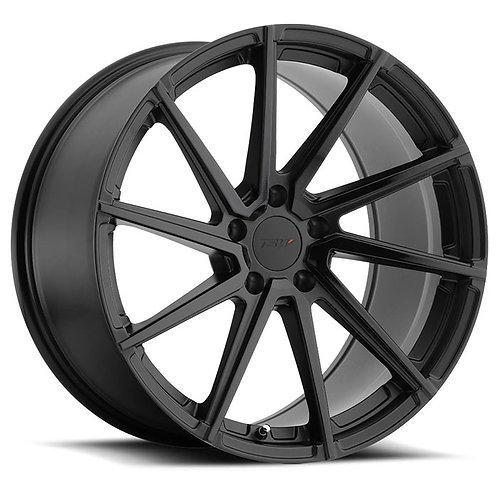 Rin 18x8.5 TSW Watkins DOUBLE BLACK - MATTE BLACK W/GLOSS BLACK FACE
