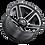Thumbnail: Rin 22x11.50 Vision 390 Empire GLOSS BLACK MILLED
