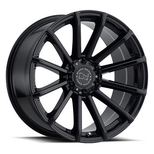 Rin 18x9.5 Black Rhino Rotorua GLOSS BLACK