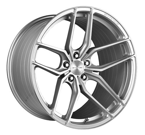 Rin 22x10.5 Stance SF03 BRUSHED SILVER