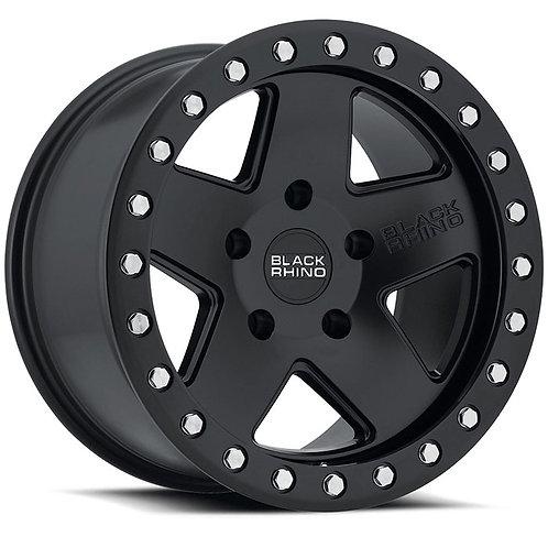 Rin 17x9.5 Black Rhino Crawler MATTE BLACK